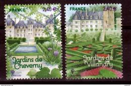France 4580 4581  Jardins De France Neuf TB ** MNH Sin Charnela Prix De La Poste  4.8 - Neufs