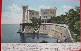 TRIESTE - SCHLOSS MIRAMARE, VIAGGIATA - Trieste