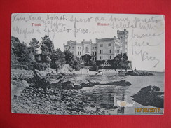 TRIESTE - MIRAMAR, VIAGGIATA - Trieste