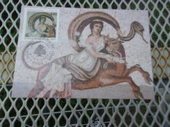FRANCE (1999) Patrimoine Culturel Du Liban - Maximum Cards