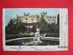 TRIESTE - MIRAMARE, VIAGGIATA - Trieste
