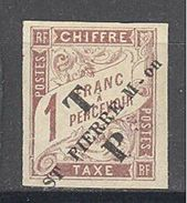 Saint Pierre Et Miquelon: Yvert N°56*; Très Frais; Belles Marges - Unused Stamps