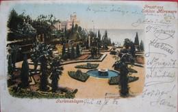 TRIESTE - MIRAMAR , GARTENANLAGEN, VIAGGIATA - Trieste
