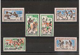HAUTE VOLTA Et NIGER Jeux D'ABIDJAN  N°Y/T : 104/106** Et 114/116** - Postzegels