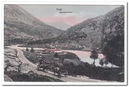 Noorwegen, Sogn, Josterdalskirken - Noorwegen