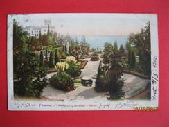 TRIESTE - MIRAMAR - PARCO, VIAGGIATA - Trieste
