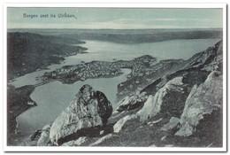 Noorwegen, Bergen Seet Fra Ulrikken - Noorwegen