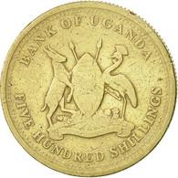Uganda, 500 Shillings, 2003, Royal Canadian Mint, TB+, Nickel-brass, KM:69 - Ouganda