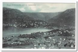 Noorwegen, Bergen Solheimsviken Seet Fra Lovstakken - Noorwegen