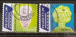 Pays-Bas Netherlands 2011 Arbre Vert Green Tree, Lightbulb Set Complete Obl - 1980-... (Beatrix)