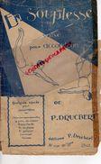 59- LILLE-PARTITION MUSIQUE- EN SOUPLESSE VALSE ACCORDEON-TRAPEZISTE CIRQUE- P.DRUCBERT-39 RUE DE LENS- - Scores & Partitions