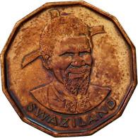 Swaziland, Sobhuza II, Cent, 1975, British Royal Mint, TTB, Bronze, KM:21 - Swaziland