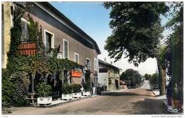 Gévrieux - Commune De Châtillon-la-Palud Restaurant St-Hubert - AIN - Cp Couleur Glacée Dentelée - TB.Etat - France