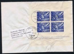 Netherlands: NVPH Nrs V402 +V 403 Used On Letter Feldpost Cancel To Germany  Legioen Legion SS - Periode 1891-1948 (Wilhelmina)
