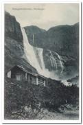 Noorwegen, Skjaeggedalsfossen, Hardanger - Noorwegen