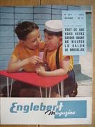 ENGLEBERT MAGAZINE N° 264 1961 - FIAT - DAF - DODGE - PIPER-SUPER-CUB - ISARD - A. DEVIS & Cie - Nouveautés 1961 - Voitures