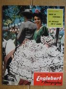 ENGLEBERT MAGAZINE N° 263 - 1960 - VW - GP DE BELGIQUE FRANCORCHAMPS - DE LUYKER R. & E. GENT - G.M.C. - FORD - RENAULT - Voitures