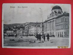 TRIESTE - RIVA CARCIOTTI , VIAGGIATA - Trieste
