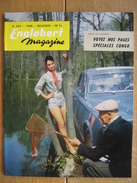 ENGLEBERT MAGAZINE N° 262 - 1960 - CONGO - VW - FORD - CORVETTE XP 700 - INTERLAIT DISON - JOST & KORNWOLF BULLANGE - Voitures