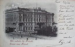 TRIESTE - PALAZZO DEL LLOYD , VIAGGIATA 1901 - Trieste