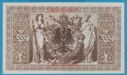 DEUTSCHES REICH 1000 MARK 21.4.1910 SERIE 5484969L P#44b  UNC - [ 2] 1871-1918 : German Empire