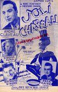PARTITION MUSIQUE-JOLI CHAPEAU-SAMBA-ANDRE CLAVEAU-SIMONE ALMA-REDA CAIRE-RAYMOND GIRERD-BEUSCHER PARIS 1951- RAMOS - Scores & Partitions