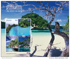 Palau-2016-fauna Flora Tourism, Sceneries-rock Island Occeans Sheetlet - Geographie