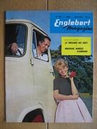 ENGLEBERT MAGAZINE N° 259 - 1959 - 60 Pages - Voitures