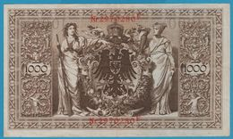 DEUTSCHES REICH 1000 MARK 21.4.1910 SERIE 2970280F P# 44b  VF - [ 2] 1871-1918 : German Empire