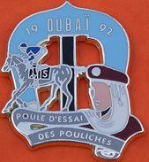 W 334 ).... ECUSSON  ......HIPPISME......DUBAI.....POULE D ESSAI  DES  POULICHES - Andere