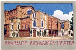 AK - Bayreuth - Richard Wagner Theater - 1906 - Bayreuth