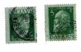Vends 2  Timbre Baviere 1911 - Autres - Europe