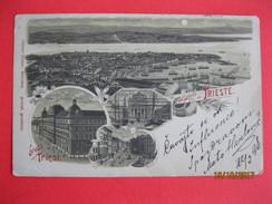GRUSS AUS TRIESTE 1898, OLD LITHO - Trieste
