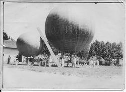 Aérostation Aérostiers Ballons Caquet Au Décollage Dirigeables De L'armée Française 1 Photo 14-18 Ww1 - War, Military
