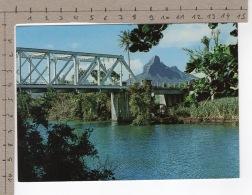 Le Pont De Tamarin - Au Loin La Montagne Du Rempart - Maurice