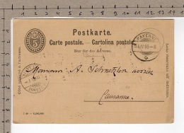 Payerne 4 IV 1898 - Entiers Postaux