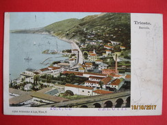 TRIESTE - BARCOLA, VIAGGIATA 1903 - Trieste