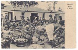 Cpa Afrique, Dahomey - Markt In Quidah - Dahomey