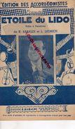 93-SAINT DENIS PIERREFITTE PARTITION MUSIQUE ETOILE DU LIDO-ACCORDEON-POLKA-E.BARALDI-L. LEDRICH-4 RUE DES BOUCHERIES - Scores & Partitions