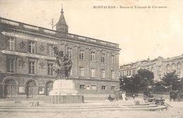 Montauban - Bourse Et Tribunal De Commerce (édit. G.V.) - Montauban