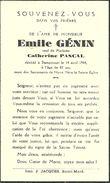 Rouvroy  Dampicourt Emile Genin 1862 1944 Veuf De Catherine Pascal - Rouvroy