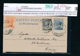 Italien Alte Ganzsache - Karte    (t6576  ) Siehe Scan ! - Italia