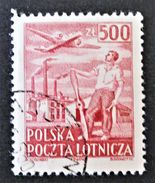 POSTE AERIENNE 1950 - OBLITERE - YT PA 27 - MI 545 - 1944-.... Republik