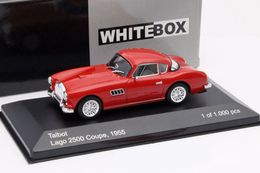 WHITEBOX - TALBOT LAGO  2500 COUPE 1955 - EDITION LIMITEE A 1000 PCS - Unclassified