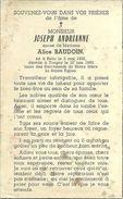 Rouvroy Torgny Joseph Andrianne Beho 1902 Torgny 1960 Epoux De Alice Baudouin - Rouvroy
