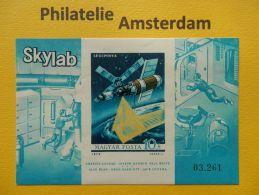Hungary 1973, IMPERF / SKYLAB SPACE RAUMFAHRT ESPACE: Mi 2906, Bl. 101 B, ** - Ruimtevaart