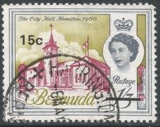 Bermuda. 1970 QEII. Decimal Surcharges, 15c On 1/3 Used. SG 241 - Bermuda