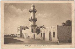 CPA:  DJIBOUTI  (afrique):    La Mosquée Saïd Hasen.  (D2030) - Islam