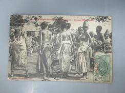 CPA AFRIQUE OCCIDENTALE DAHOMEY JEUNES FETICHEUSES - Benin