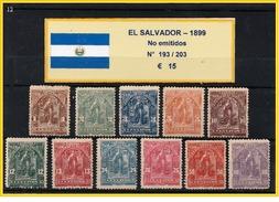 EL SALVADOR 1899  -  SELLOS NO EMITIDOS - Salvador